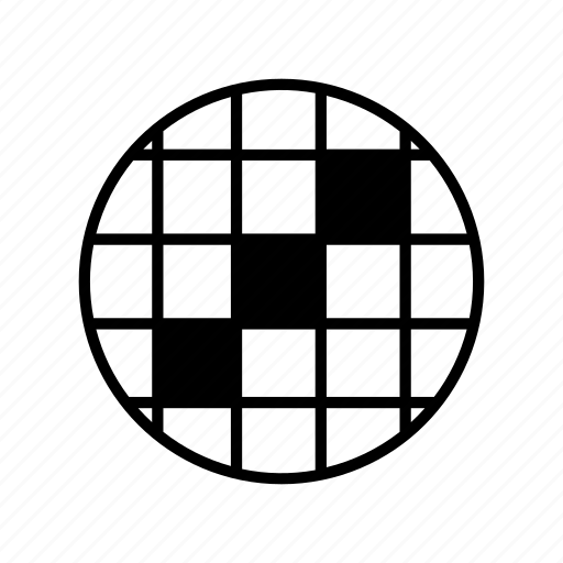 editor, grid, nearest, round, squares, to, tools icon