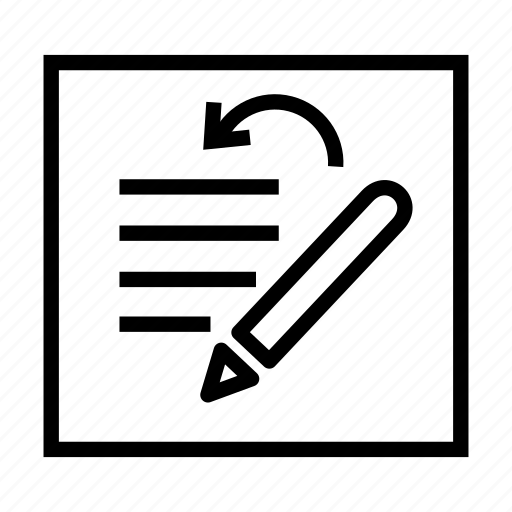 alignment, format, paper, pen, pencil, text, write icon