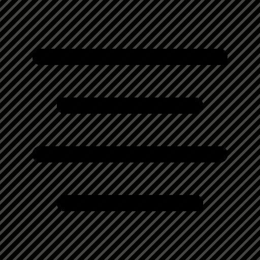 align, center, edit, editor, sign, text icon
