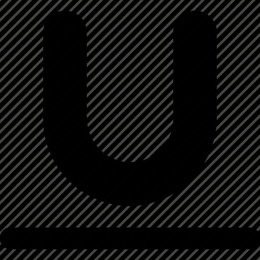 format, underline icon