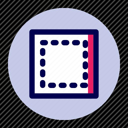 border, edit, editor, layout, minimize, text icon