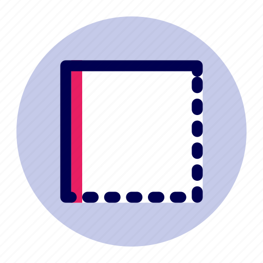 border, edit, editor, style, text icon