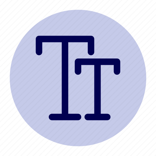 edit, editor, font, sign, size, text icon