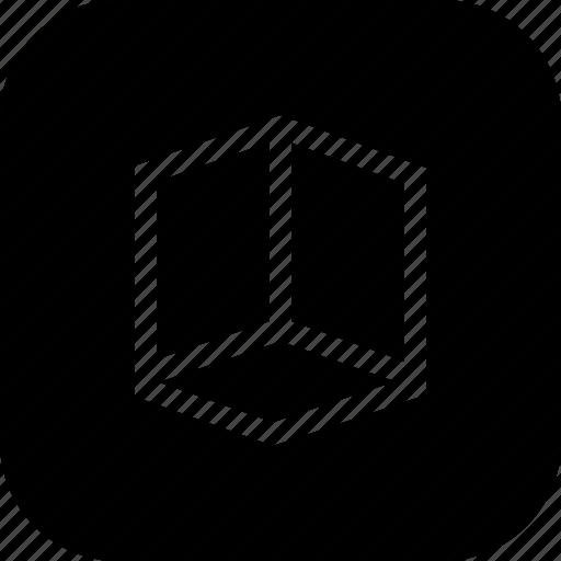 box, create, cube, design, graphic, shape, tool icon