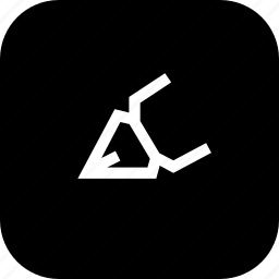 brush, calligraphic, draw, strke, tool icon