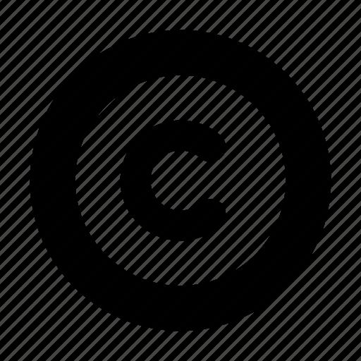 Copyright icon - Download on Iconfinder on Iconfinder