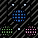 club, disco, music, musical, party icon