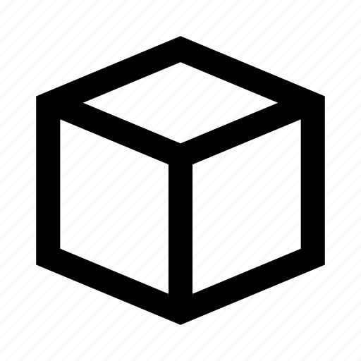 box, cube, game, geometry, shape icon