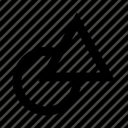 circle, figures, shape, shapes, triangle icon