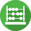 abacus, beads, calculating, counting, machine icon
