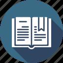 book, catalog, education, learning, reading icon