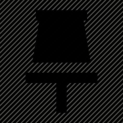 notice pin, noticeboard pin, push pin, tack pin, thumb tack icon