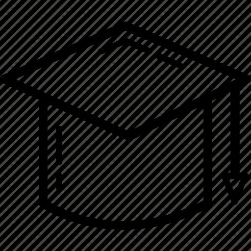 college, education, graduate, graduation, student, study, university icon