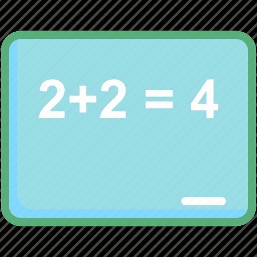 math, math formula, math question, mathematics, numerical question icon