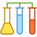 culture tube, experiment, flask, lab test, sample tube icon