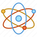 atom, atom bond, electron, molecule, science icon