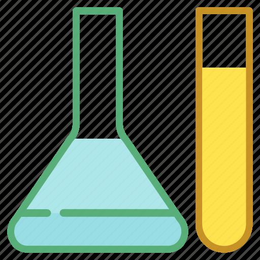 chemistry, flask, lab, laboratory, test tube icon