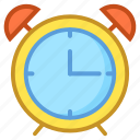 alarm clock, clock, timekeeper, timepiece, watch icon