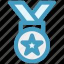 award, medal, prize, quality, reward, ribbon