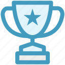 award, cup, education, price, trophy, winner icon