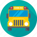 autobus, bus, school bus, transport, vehicle