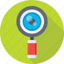 loupe, magnifier, magnifying glass, search tool, zoom icon
