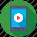 mobile, mobile video, video, video player, video streaming