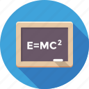 einstein formula, emc2 formula, physical formula, scientific formula, theory of relativity icon