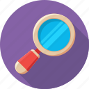 magnifier, magnifying glass, loupe, zoom, search tool icon