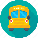bus, autobus, school bus, transport, vehicle