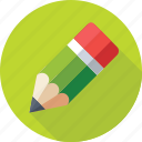 crayon, pencil, pencil tip, write, writing tool icon