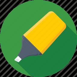 color fill, highlighter, marker, pen icon