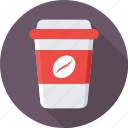 coffee, coffee cup, paper cup, takeaway coffee icon