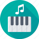 digital keyboard, electric keyboard, electric piano, piano, piano keyboard icon