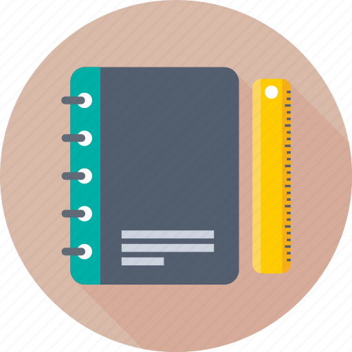 Notebook, notepad, notes, scratch pad, writing pad icon - Download on Iconfinder