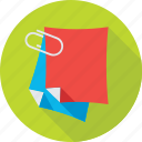 paper holder, paper clip, paper, documents, attach paper icon