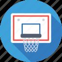 basketball goal, backboard, basketball net, basketball hoop, basketball stand icon