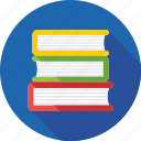 bookmark, books, education, library, study icon