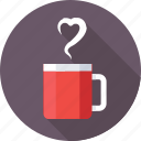 beverage, hot drink, instant tea, tea cup, tea mug icon