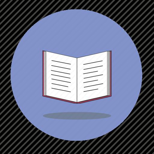 book, literature icon