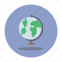 earth, geography, globe icon