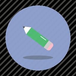 education, pencil, school icon