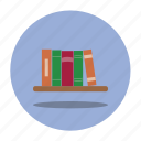 books, education, school, shelf icon