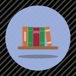 books, education, school, shelf icon