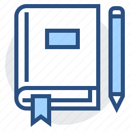 book, education, knowledge, learning, pen, student, study icon