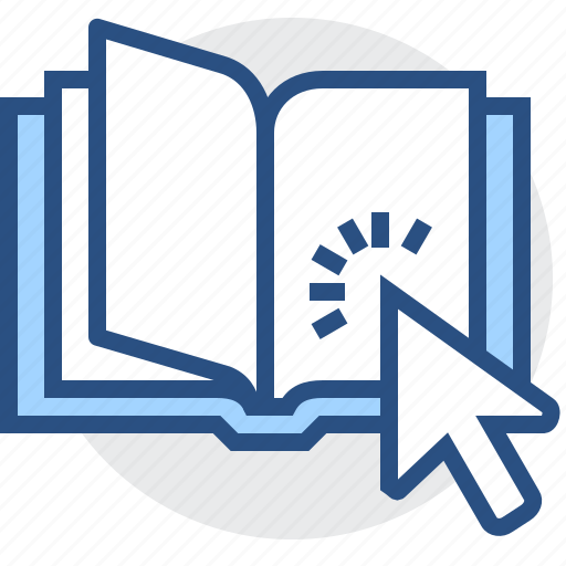 book, education, knowledge, learning, materials, online, school icon