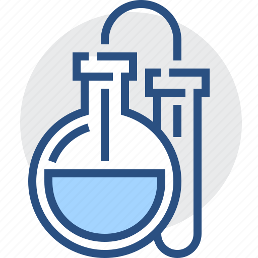 bulb, chemistry, education, flask, knowledge, lab, science icon
