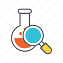 chemical, education, lab, research, science icon