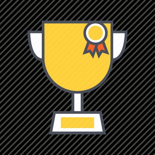 award, champion, education, trophy, win icon