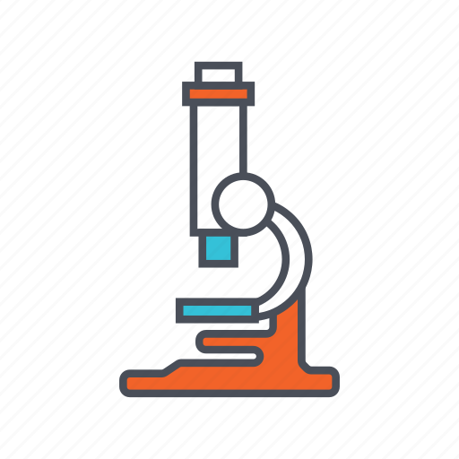 education, lab, microscope icon